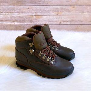 Timberland Medium Brown Leather Euro Hiker